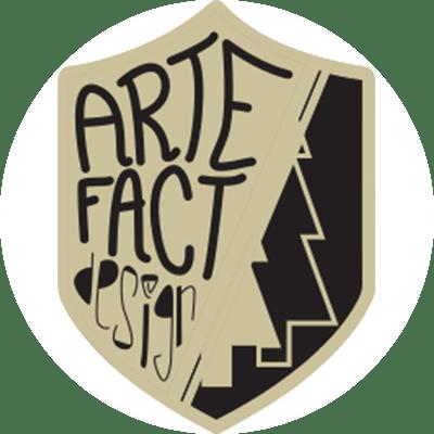 logo artefact design